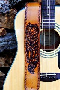 Alpha Wolf Guitar Strap
