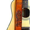 Angel Custom Leather Guitar Strap