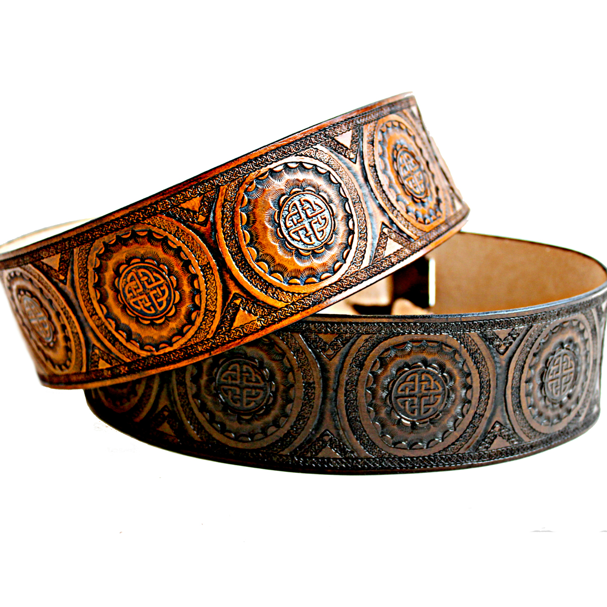 celtic-knot-tooled-leather-guitar-strap-the-leather-smithy_1