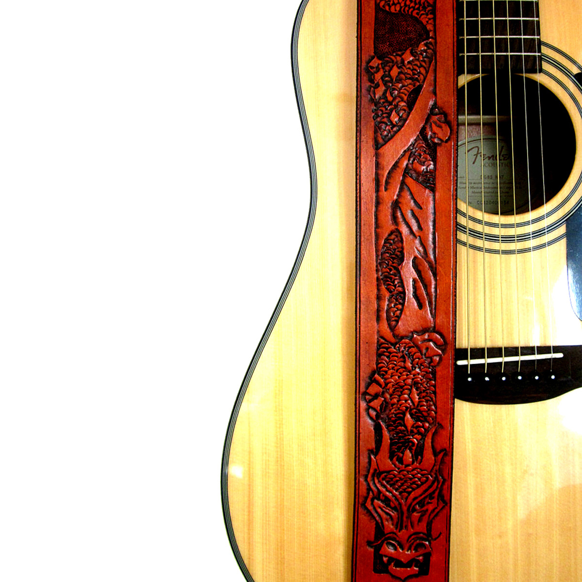 dragon-hand-tooled-leather-guitar-strap-the-leather-smithy_1