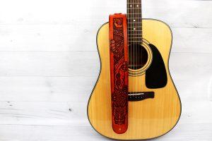 Leather Dragon Guitar Strap