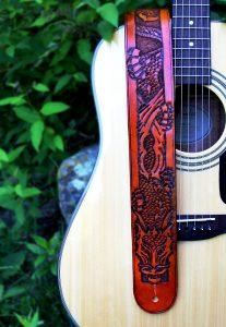 Dragon Guitar Strap