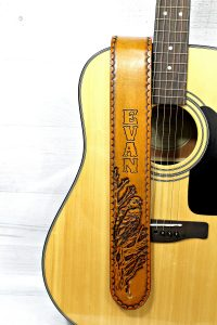 Eagle Guitar Strap with Name or Initials