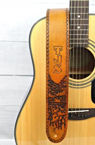 Woodland Leather Guitar Strap