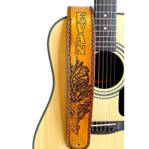 Personalized Eagle Guitar Strap