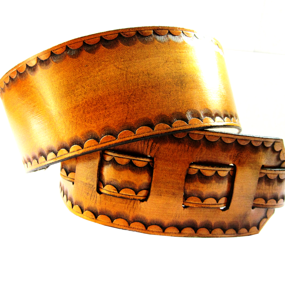 tan-leather-guitar-strap-scallop-border-the-leather-smithy_1