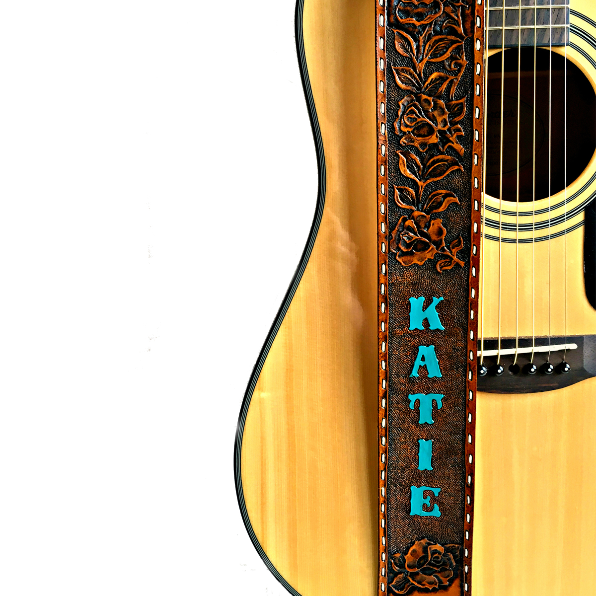 western-rose-vine-tooled-painted-leather-guitar-strap-the-leather-smithy_1
