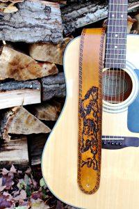 Wild Horse Guitar Strap