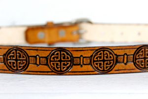 Women's Celtic Leather Belt
