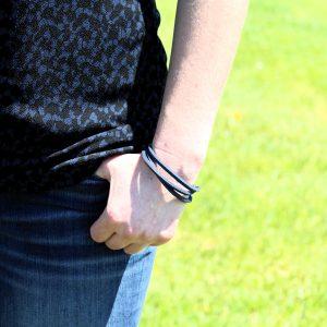 Blue Wrap Arm Band Bracelet