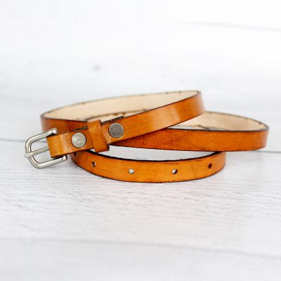 Women's Barely Noticeable Thin Leather Belt