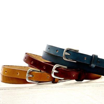 Women's Thin Leather Belt