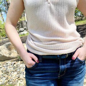 Womens Thin Blue Belt