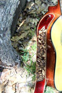 Sunflower Acoustic Guitar Strap