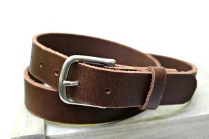 Men's Heavy Duty Leather Belt
