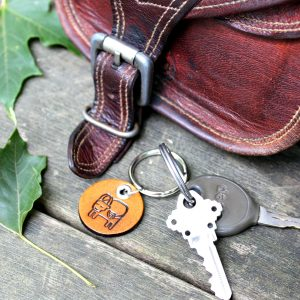 Lifestyle of Zodian Key Chain