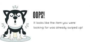 OOPS! Item Unavailable