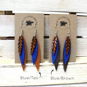 Feather Earring Color Options