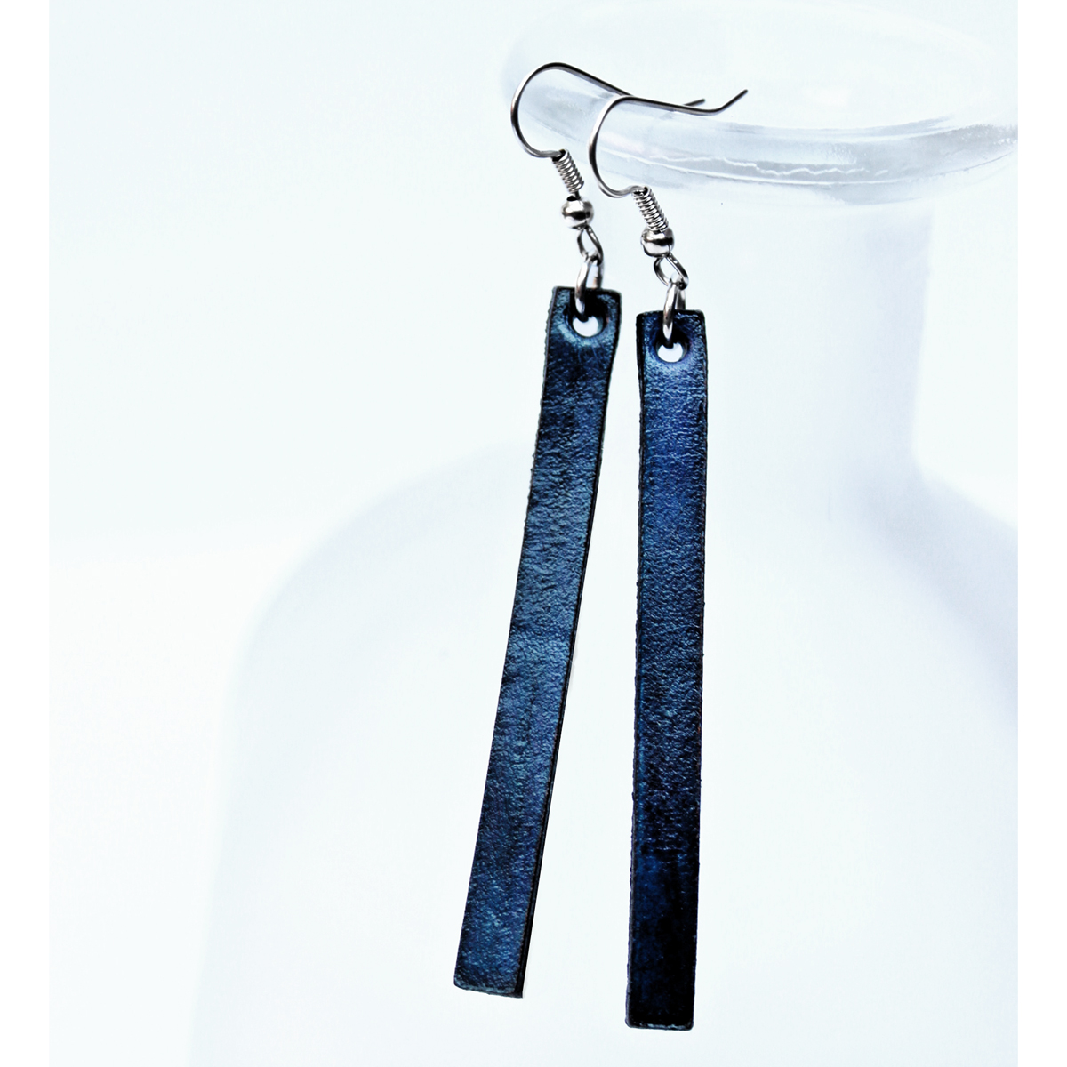 blue-leather-earrings-the-leather-smithy-WEB