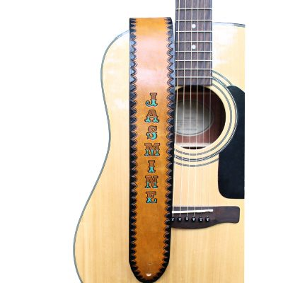 Western Personalized Guitar Strap
