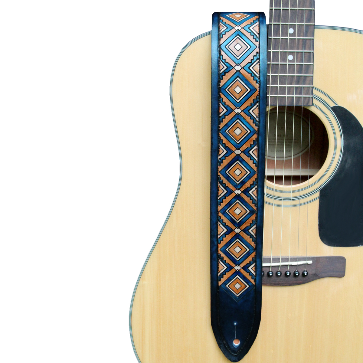 blue-diamondback-leather-guitar-strap-the-leather-smithy-WEB