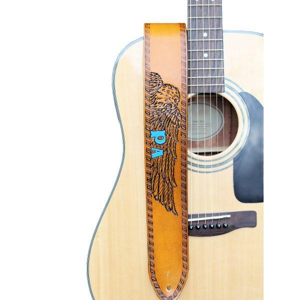 Custom Eagle Guitar Strap
