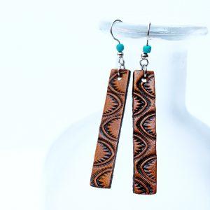 Western Leather Earrings