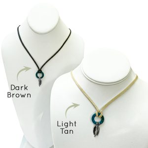 Womens Leather Necklace